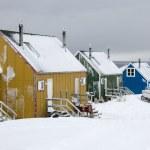 Ittoqqortoormiit - Scoresbysund - Greenland — Stock Photo #17637343