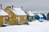 Ittoqqortoormiit - scoresbysund - Grónsko — Stock fotografie