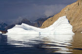 Iceberg - Northwest Fjord - Scoresbysund - Greenland — Stock Photo