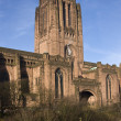 Anglican Cathedral - Liverpool - England - Stock Photo