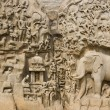 Stock Photo: Arjunas Penance - Mahabalipuram - India