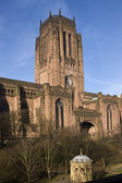 Anglican Cathedral - Liverpool - England — Stock Photo