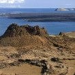 Volcanic landscape - Island of Bartolome - Galapagos Islands — Stock Photo