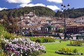 Plaza de Armas - Cuzco - Peru — Stock Photo