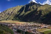Pisac - i̇nka kutsal vadi - peru — Stok fotoğraf