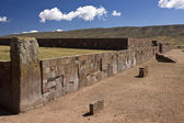 Tiwanaku - La Paz - Bolivia — Stock Photo