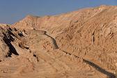 Valle del morto - deserto di atacama - Cile — Foto Stock