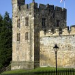 Alnwick Castle - Northumberland - England — Stock Photo