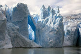 佩里托莫雷诺冰川-阿根廷 — 图库照片