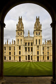 All Souls College - Oxford - United Kingdom — Stock Photo