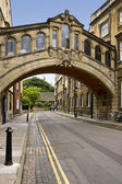 Bridge of Sighs - Oxford - Great Britain — Stock Photo