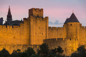 Carcassonne Fortress - France — Stock Photo