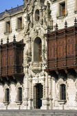 Bishop's Palace - Lima - Peru — Stockfoto