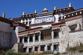 Ganden Monastary in Tibet — Stock Photo