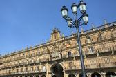 Plaza stora - salamanca - spanien — Stockfoto