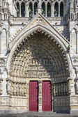 Amiens Cathedral - France — Stock Photo