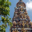 Hindu Temple - Singapore - Stock Photo