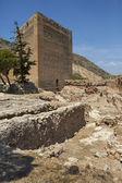 La mola slott - costa blanca - Spanien — Stockfoto