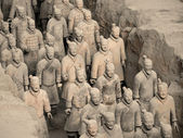 Terracotta Army - Xian - China — Stock Photo