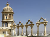 Udaipur City Palace - Rajasthan - India — Stock Photo