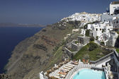 Santorini - Greece - Cyclades — Stock Photo