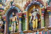 Sri Krishnan Hindu Temple - Singapore — Stock Photo