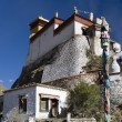 Stock Photo: Yambulagang Monastery - Tibet Autonomous Region of China