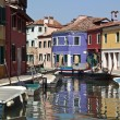 Island of Burano - Venice - Italy - Stock Photo