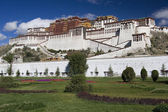 Potala Palace - Lhasa - Tibet — Stock Photo