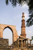 Qutb Minar - Delhi - India — Foto de Stock