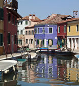 Island of Burano - Venice - Italy — Stock Photo