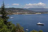 Corniche de l Esteral - French Riviera - South of France — Stock Photo