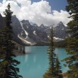 Moraine Lake - Banff National Park - Canada — Stock Photo
