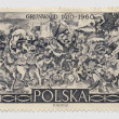 Polish Postage Stamp - Philately - Stock Photo