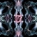 Abstract smoke swirls — Stock Photo