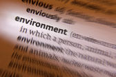 Environment - Dictionary Definition — Stock Photo