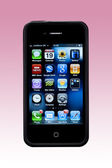 IPhone4 - Apps Screen — Stock Photo