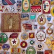 Old Soviet Regime Badges - Russia - Stock Photo