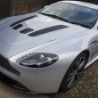 Aston Martin V8 Vantage - Stock Photo