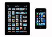 Apple iPad2 - iphone4 — Stock Photo