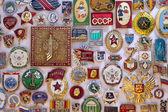 Old Soviet Regime Badges - Russia — Stock Photo