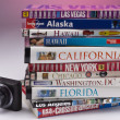 Travel Guides of the USA - Stock Photo