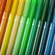 Colorful selection of pens — Stock Photo #18171871