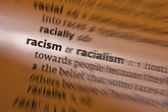 Racism - Dictionary Definition — Stock Photo