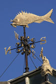 Weather Vane - Fish Market - London — Stock Photo