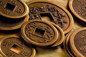 Old Chinese Coins — Stock Photo