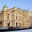 Stock Photo: Krakow - Slowacki Theater - Poland