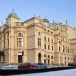 Krakow - Slowacki Theater - Poland — Stock Photo