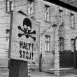Auschwitz Concentration Camp - Poland - Stock Photo