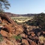 Twyfelfontain in Damaraland - Namibia — Stock Photo
